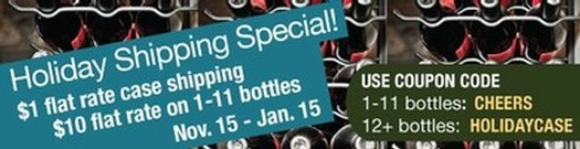 Holiday Wine Shipping Special 2014