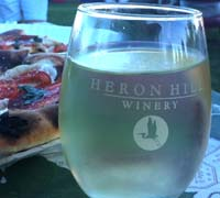 Food and wine event at Heron Hill Tasting Room at Bristol