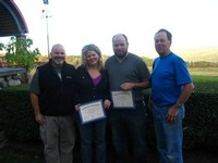 Heron Hill sweepstakes winners certificates