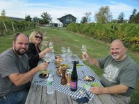 Heron Hill Sweepstakes winners lunch at Tasting Room at Bristol