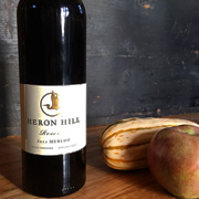 Heron Hill Reserve Merlot for Thansgiving