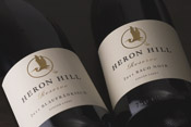 Heron Hill Reserve red wine