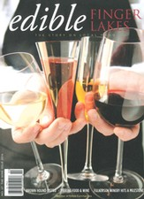 Edible Finger Lakes wine issue