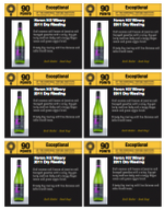 Dry Riesling shelf talker