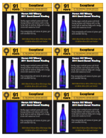 Semi Sweet Riesling shelf talker