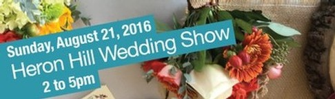 2016 Heron Hill wedding show