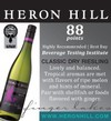 Heron Hill Riesling 88