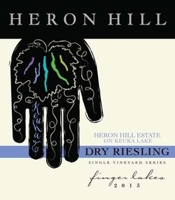 Heron Hill Estate Dry Riesling, Keuka Lake 2013