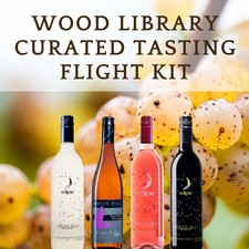 Wood Library Curated Wine Tasting Flight Kit